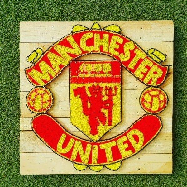 Manchester United String Art