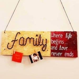 Family-Home Decor-String Art by Sonal Malhotra