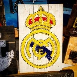 Real Madrid String Art