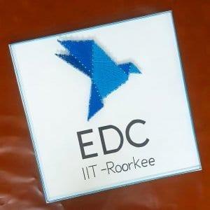 EDC Logo string art - iit roorkee