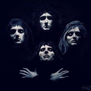 Handmade-acrylic-portrait-of-queen-music-band