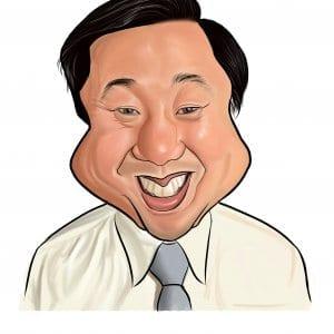 Dennis Caricature by Sri Priyatham