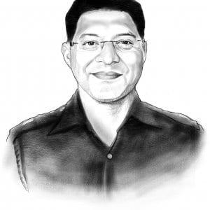 Man in Uniform (Medium Detailed) Caricature