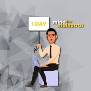 Mind the Malhotras caricature