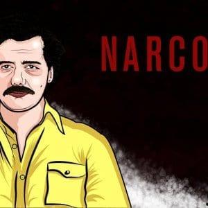 Pablo Escobar Caricature