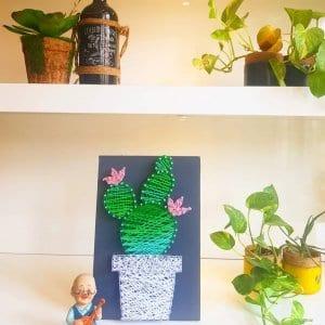 love for plants string art