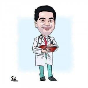 medical caricature