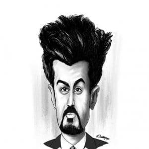 Azeem Banatwalla Caricature by Jay