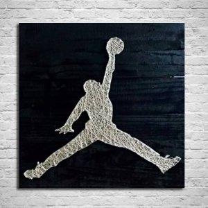 Jordan String Art by Sonal Malhotra