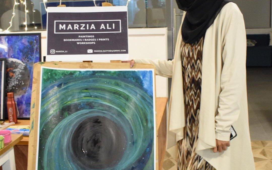 Meet Marzia Ali, an artist and entrepreneur